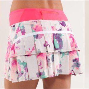 Lululemon Pace Setter Skirt Blurred Blossom 4